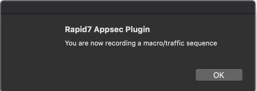 AppSec Plugin Chrome Record Macro
